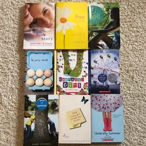 Book Bundle, Young Adult Fiction Books